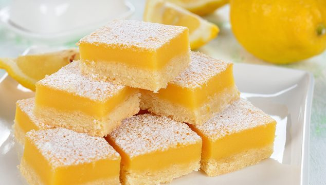 Lemon Bars with a Twist of Lime